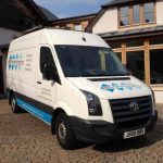 Baldwin Building Services Van