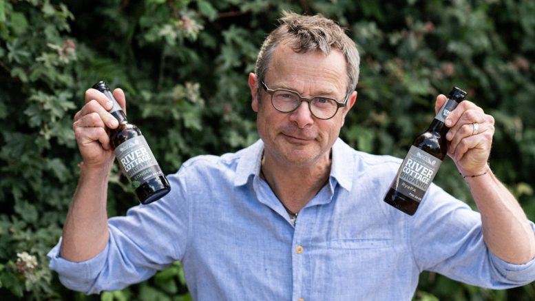 Hops and Shots: Chorley company's organic beer range with celebrity chef Hugh Fearnley-Whittingstall